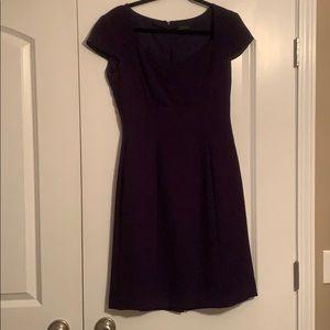 Deep Purple Tahari Dress